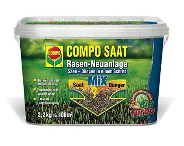 COMPO SAAT Rasen-Neuanlage-Mix 2.2 kg für 100 m²