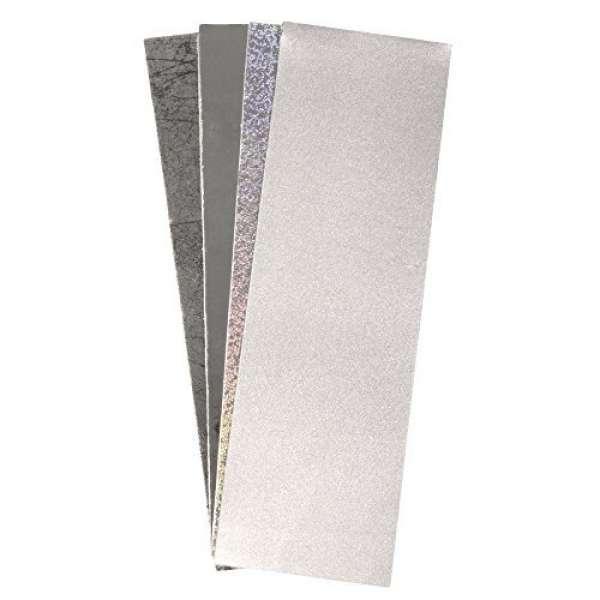 Wachs Folie Silber-Töne 20x6,5cm 4Farben