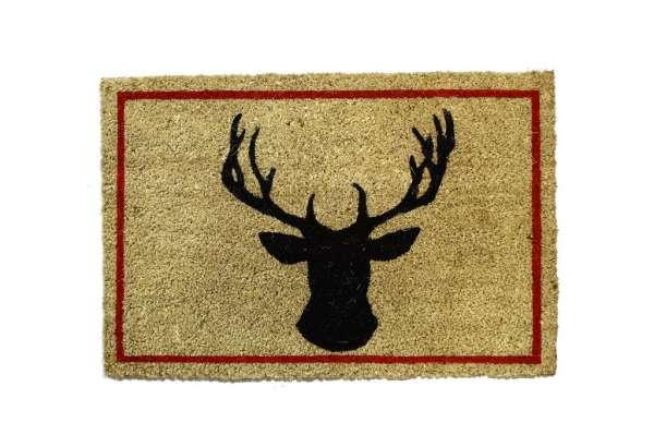 Fußmatte Hirsch natur 40x60cm