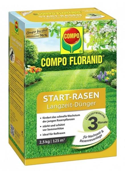 Compo Sana Start-Rasendünger 5kg für 200 m²