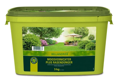 Bellandris Moosvernichter plus Rasendünger 5kg