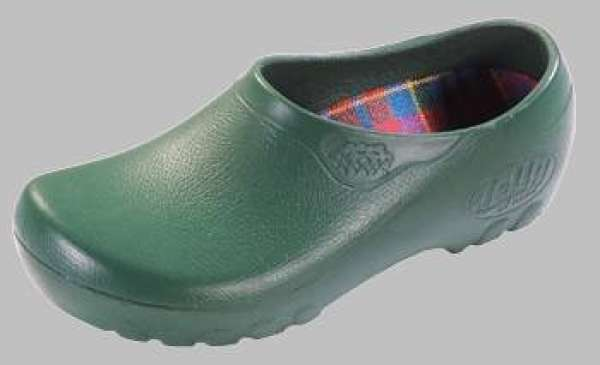 ALPRO Jolly Fashion Damen Clogs PU, Grün, Größe 40 mit normalem Fußbett