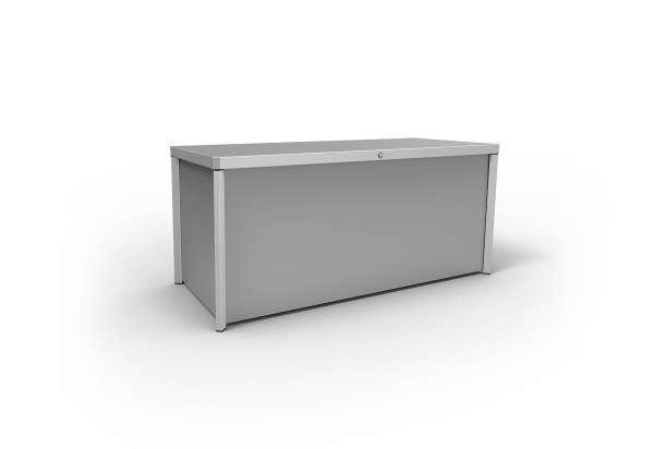 Kissenbox Kettcase 165x75x75cm silber