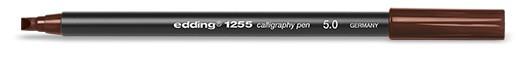 edding 1255 calligraphy pen 5.0 - 018 Dunkelbraun
