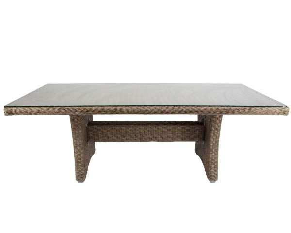 Tisch Goldfield 110x220cm braun