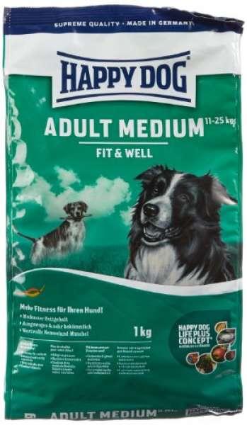 Happy Dog Fit & Well Medium Adult