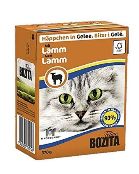 Bozita Häppchen in Gelee mit Lamm 370g