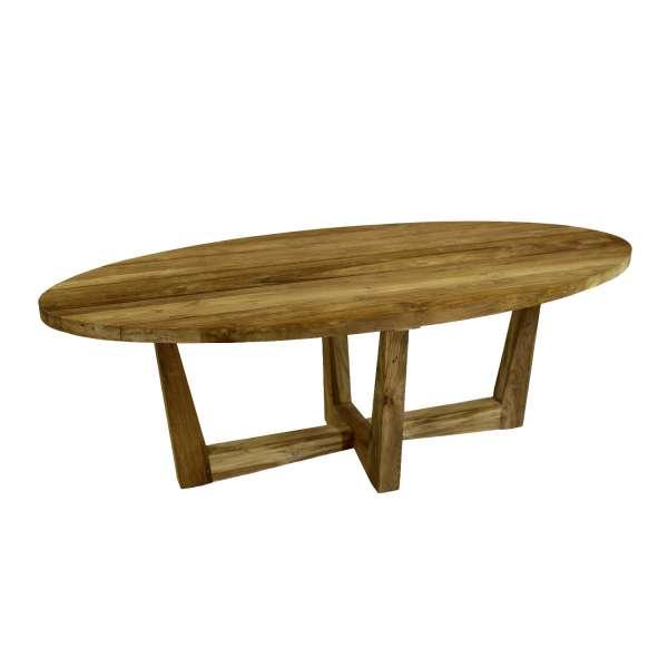 Tisch Venezuela 300x120cm oval