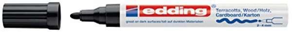 e-4000 Mattlack-Marker schwarz