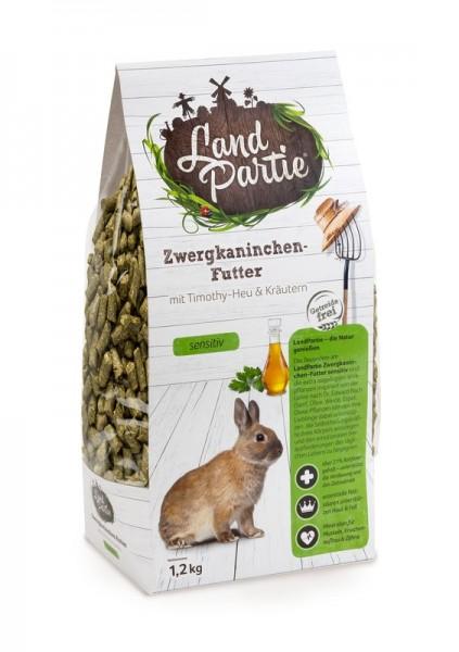 LandPartie 1,2kg Zwergkaninchen Monopellet