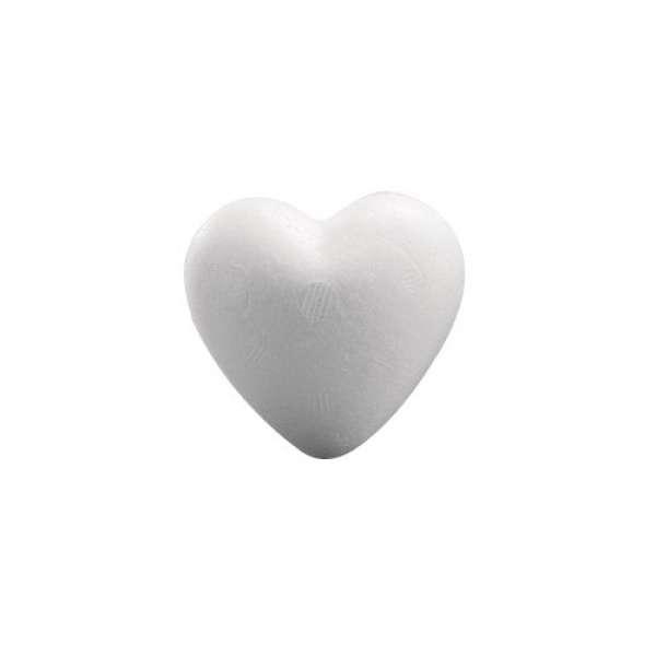 Styropor Herz 15cm voll
