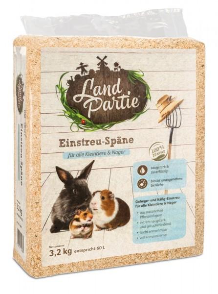 LandPartie Einstreu Späne 3,2kg
