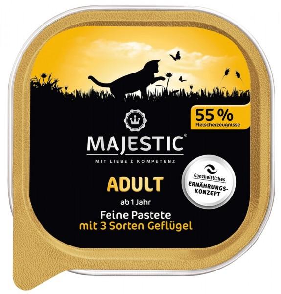 MAJESTIC Adult - 3 Geflügelsorten - 100g Schale