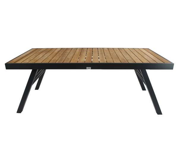 Tisch Adelaide anthrazit 200x90cm