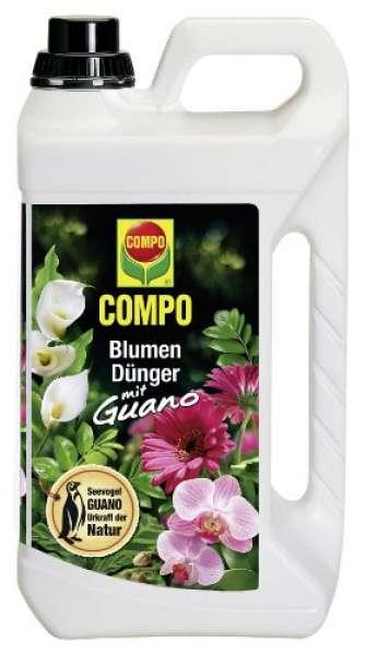 COMPO Blumendünger mit Guano 5 Liter