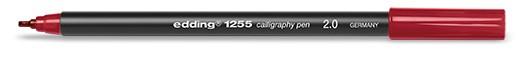edding 1255 calligraphy pen 2.0 - 046 Karmesin
