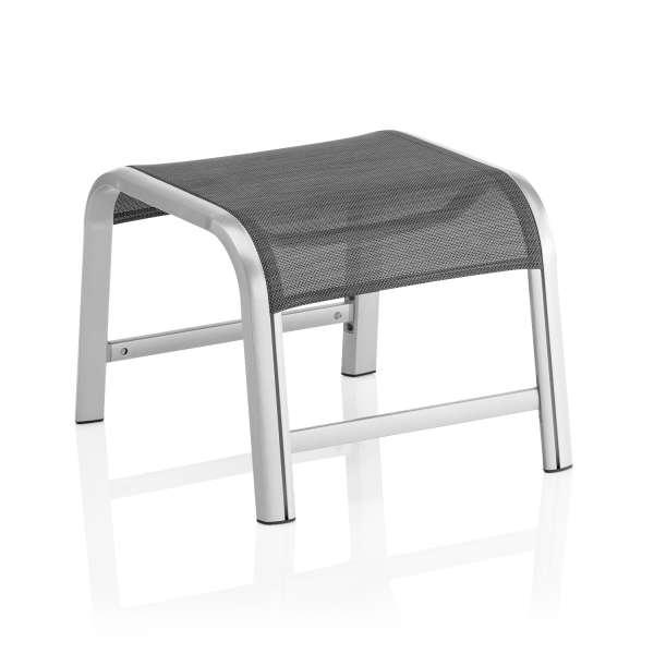 Hocker Avalon/Forma II silber/graphit