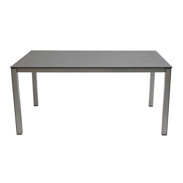 Tisch Elements 160x90cm silber