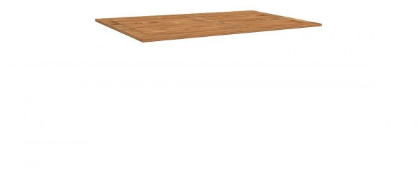 Tischplatte Teak 130x80cm