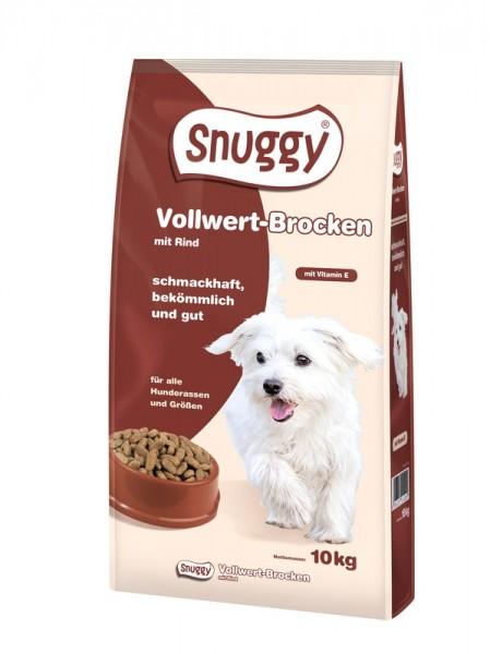 snuggy Hund Vollwert-Brocken Rind 10kg