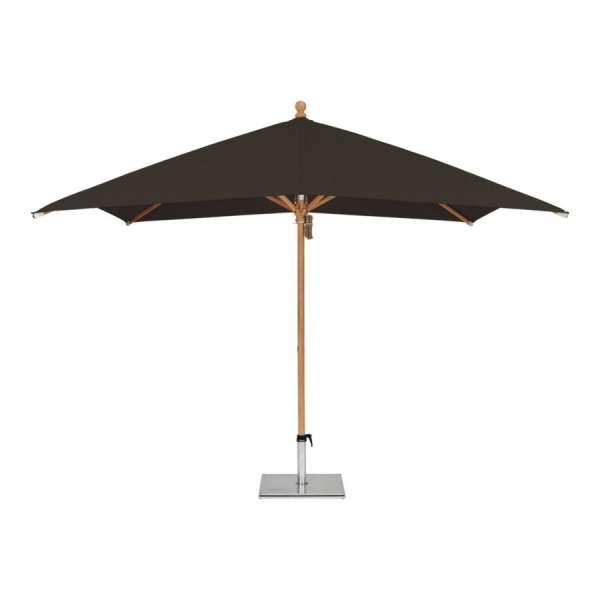Schirm Piazzino 300x300cm schwarz 615