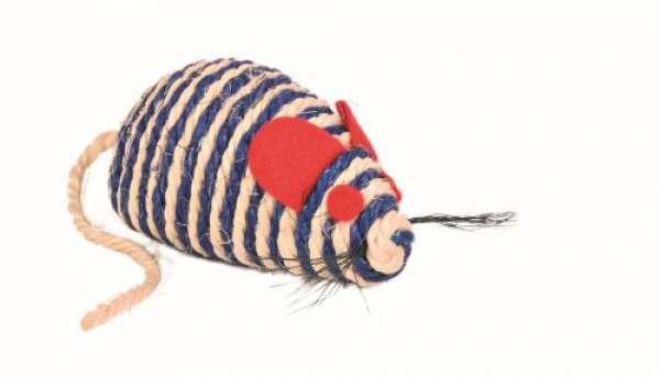 Trixie Sisal-Maus, 10 cm