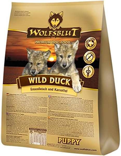 Wolfsblut Wild Duck Puppy mit Ente & Kartoffel