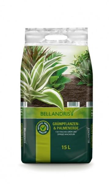 Bellandris Grünpflanzen- & Palmenerde 15L