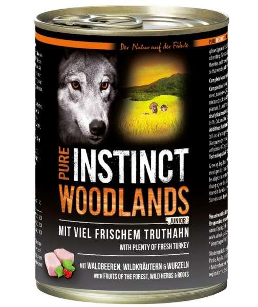 PURE INSTINCT 800g WOODLANDS Junior Truthahn
