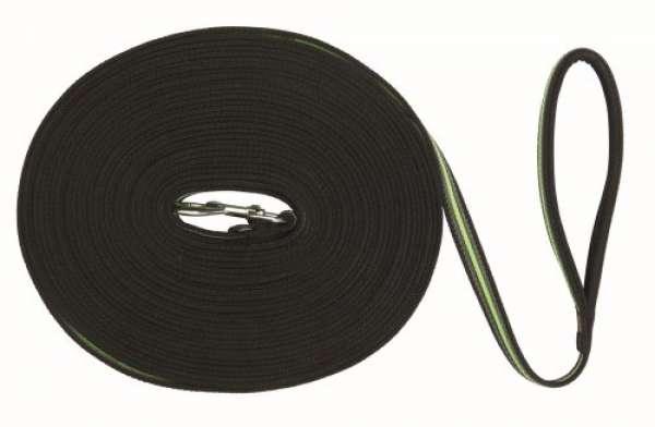 Trixie Fusion Schleppleine schwarz/grün 10m
