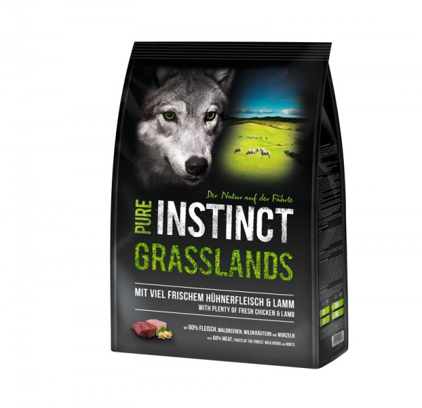 PURE INSTINCT 4kg GRASSLANDS - Lamm