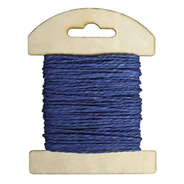 Papier Kordel 1,2mmx10m royalblau