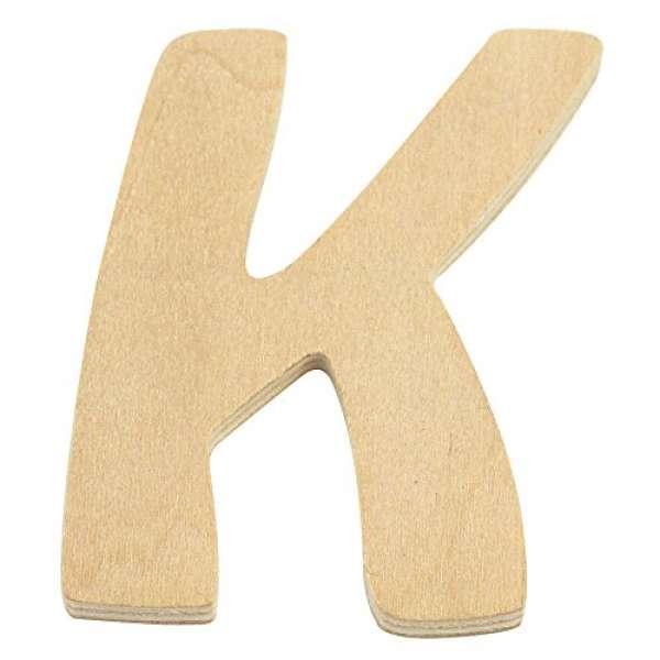 Holz Buchstabe K