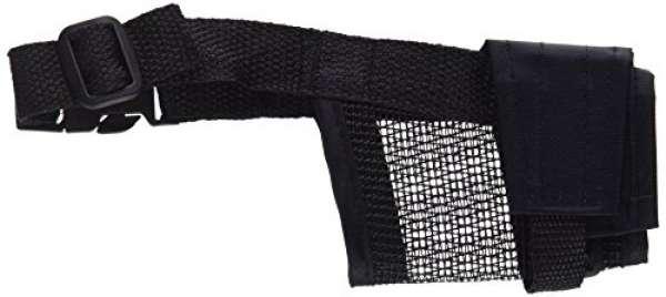 Trixie Maulkorb mit Netzeinsatz Polyester S, 12-31 cm