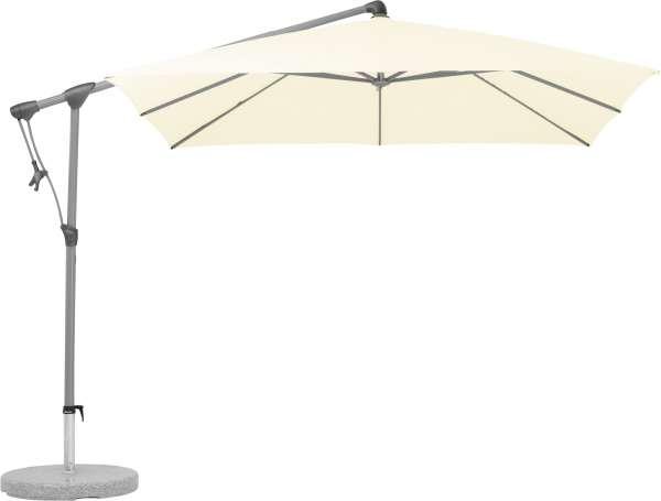 Schirm Sunwing 260x260cm natur 150