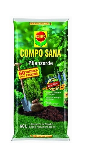 Compo Sana Pflanzerde Kultursubstrat 60L
