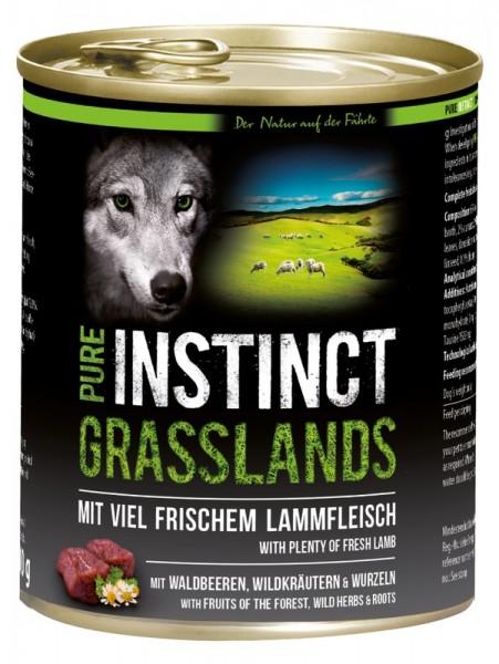 PURE INSTINCT GRASSLANDS 800 g