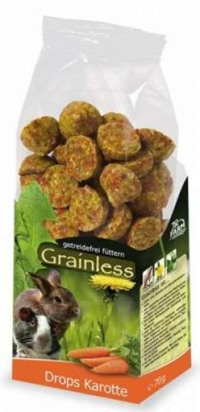 JR Grainless Drops Karotte 140g