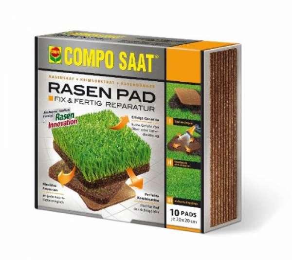 COMPO SAAT Rasen Pad 10 Stück