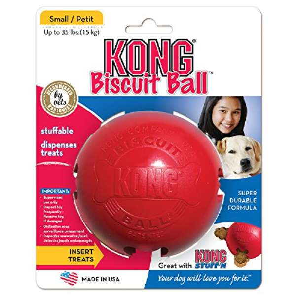 Kong Biscuit Ball S rot