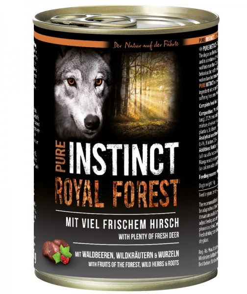 PURE INSTINCT ROYAL FOREST 400g