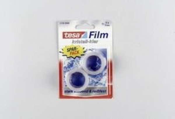 Tesafilm kristall-klar 2 Rollen 10m x 15mm