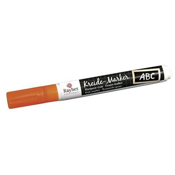 Kreide-Marker orange