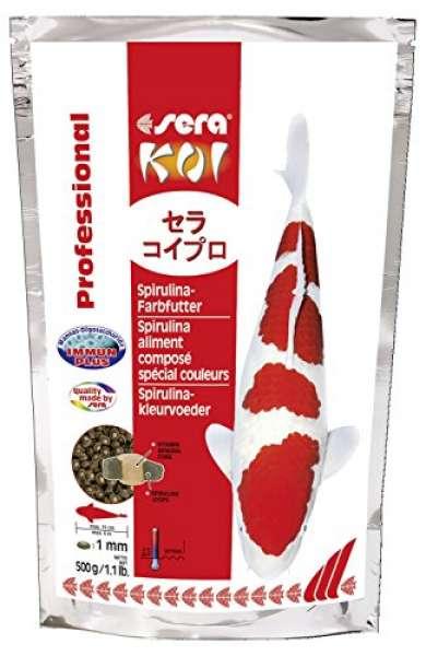 Sera Koi Professional Spirulina-Farbfutter
