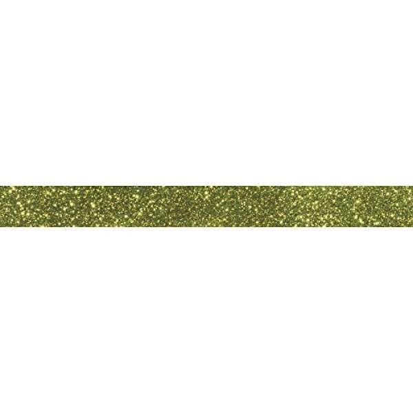 Glitter Tape 15mmx5m immergrün