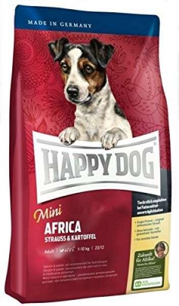 Happy Dog Mini Africa mit Strauss & Kartoffel 1kg