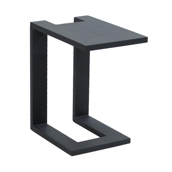 Loungetisch Anthrazit U-Form