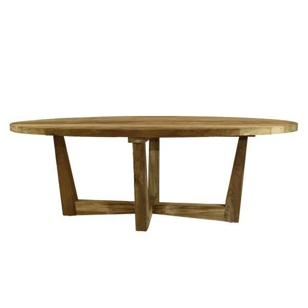 Tisch Venezuela 220x100cm oval