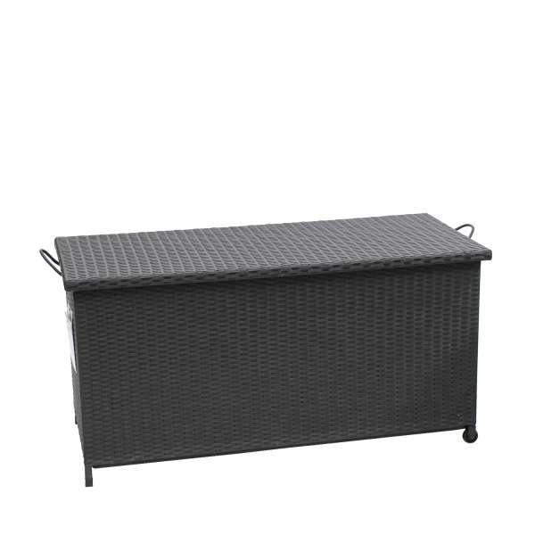 Kissenbox Calathus schwarz 122x56x60,5cm