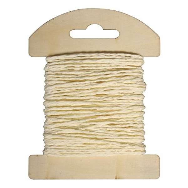 Papier Kordel 1,2mmx10m vanille